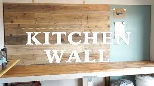 cuisine diy diy キッチンに壁を作ってみた その2 kitchen wall 2