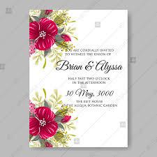 invitation for marriage hibiscus aloha hawaii wedding invitation card template marriage