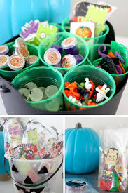 halloween party goodie bags non candy halloween treats and the teal pumpkin project