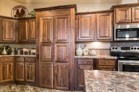 black walnut wood kitchen cabinets manufactured home decor kit custom homebuilders