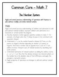 grade math common core add u0026 subtract rational numbers puzzle