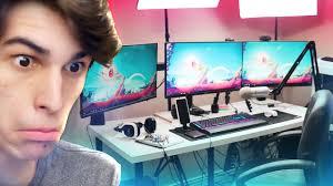 rifty u0027s ultimate gaming setup 2017 youtube