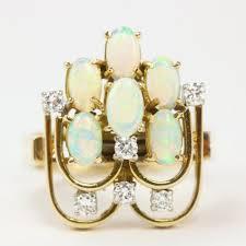 vintage opal engagement rings vintage opal ring j r jewels