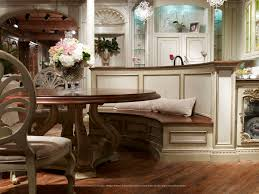 dining room with banquette seating grandiose vintage dining nook ideas with antique round breakfast