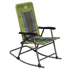 Timber Ridge Camp Chair Timberridge Smooth Glide Lightweight Padded Folding Rocking Chair