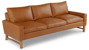 Made In Usa Leather Sofa Lounging On Usa Made Leather Furniture From Bloomingdale S The