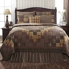 King Quilt Bedding Sets Vhc Brands Lasting Impressions Prescott Quilted Bedding Collection