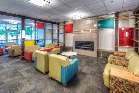 residence hall lobby update at university of denver u2014 evstudio
