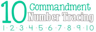 ten commandment crafts coloring page 10 commandments in general