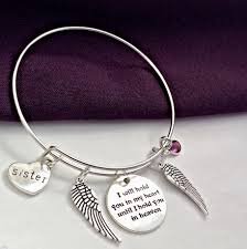 personalized remembrance jewelry women s bereavement bracelet bereavement gift silver