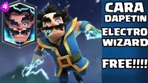 dapet magical chest electro wizard challenge clash royale