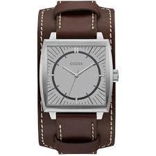bracelet cuir montre images Montre guess w1036g2 montre bracelet cuir marron homme achat jpg