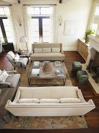 why you should arrange two identical sofas opposite each other