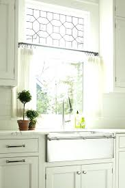 ideas for kitchen window curtains small kitchen window curtains stevensimon org