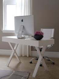 Modern White Office Table Decorating A Modern House With A White Modern Desk For Whimsical