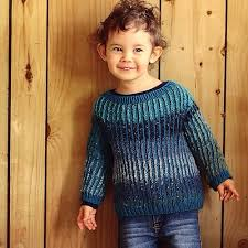 ravelry brioche toddler sweater pattern by lavanya patricella