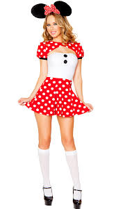 Pink Minnie Mouse Halloween Costume Minnie Mouse Costume Adults Women Girls Halloween