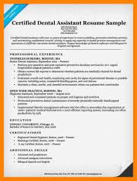 Dental Assistant Resumes Examples by 4 Dental Assistant Resume Sample Doctors Signature