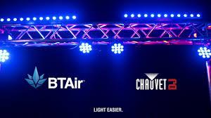 chauvet dj fxarray q5 effect light bluetooth wireless technology chauvet dj btair youtube
