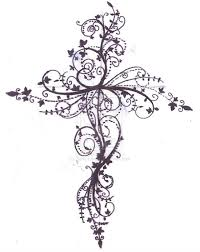 cross tattoo design by zanie larch on devian get one b c in