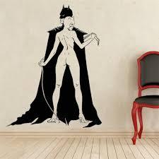 Batman Home Decor Aliexpress Com Buy Free Shipping Comics Art Batman Batgirl