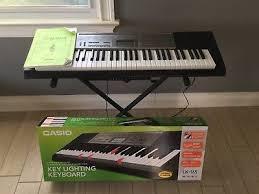 casio lk 175 61 lighted key personal keyboard casio lk 165 61 lighted key educational portable keyboard with