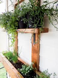 Verticle Gardening by Diy Vertical Herb Garden And Planter 2x4 Challenge