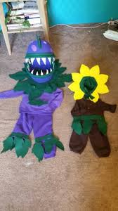 plants zombies halloween costumes chomper sunflower