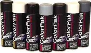 Spray Paint Supplies - car colors colorpak professional series spray paint cans
