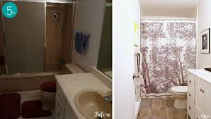 ideas for a bathroom makeover small bathroom makeovers 10 transformations curbly