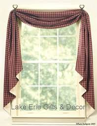 Primitive Kitchen Curtains Country Kitchen Curtains Canada Primitive Window Treatment Ideas
