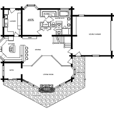 log home floor plan log cabin floor plans with garage redbancosdealimentos org