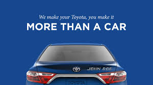 toyota english get a personalized badge for your toyota