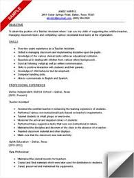 Early Childhood Education Resume Template Best Solutions Of Early Childhood Assistant Resume Sample For Your