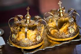 orthodox wedding crowns wedding crowns stock image image of happiness jesus 25279907