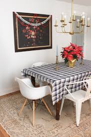 our christmas entry u0026 dining room thewhitebuffalostylingco com