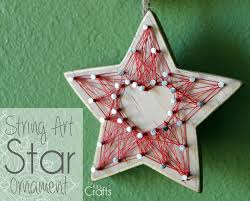 kit u0027s crafts stringart star ornament just for christmas