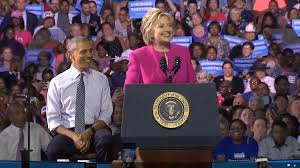 where does hillary clinton live live now president obama is on stage with hillary clinton right now
