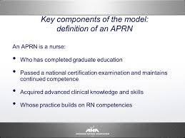 consensus model for aprn regulation licensure accreditation