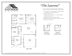 vaulted ceiling floor plans laurens eastwood homes