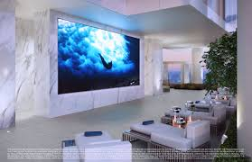 Home Theater Design Miami Sunny Isles Beach Condos Turnberry Ocean Club Miami Condosluxo