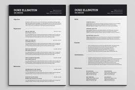 2 page resume template 2 page resume examples molrol ideas