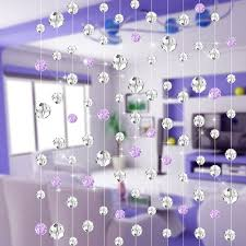 sky candybar 10 meters crystal bead curtain for living room
