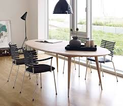 Oval Retro Dining Table DM Wharfside Danish Furniture - Oval kitchen table