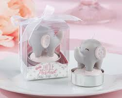 candle baby shower favors peanut elephant candle baby shower favors set of 4