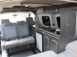 Bongo Tailgate Awning Toyota Hiace Camper High Roof Version From The Rear Zgodni Kombi