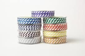striped grosgrain ribbon 3 8 inch grosgrain ribbon w diagonal stripes ribbon may arts