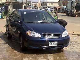 price of toyota corolla 2003 used toyota corolla 2003 for sale autos nigeria