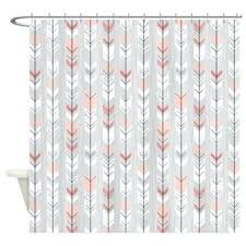 Colored Shower Curtain Coral Shower Curtains Beautiful Coral Colored Shower Curtain