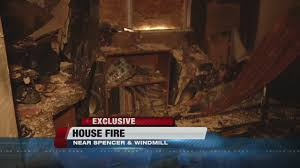 look inside of house that caught fire on friday youtube